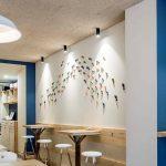 Decoración Restaurante moderno La Tula Bouzas